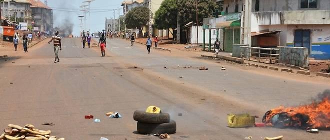 Manifestants à Conakry