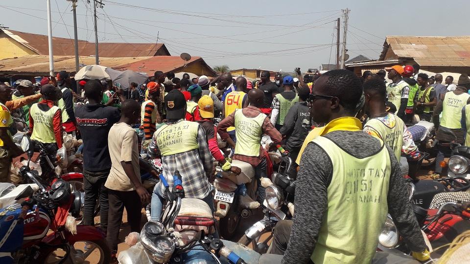 Tentative d'assassinat d'un taxi moto : Faranah en ébullition