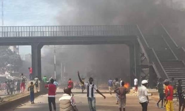 Tension à Koloma-marché : Les tracasseries policières à l'origine des affrontements